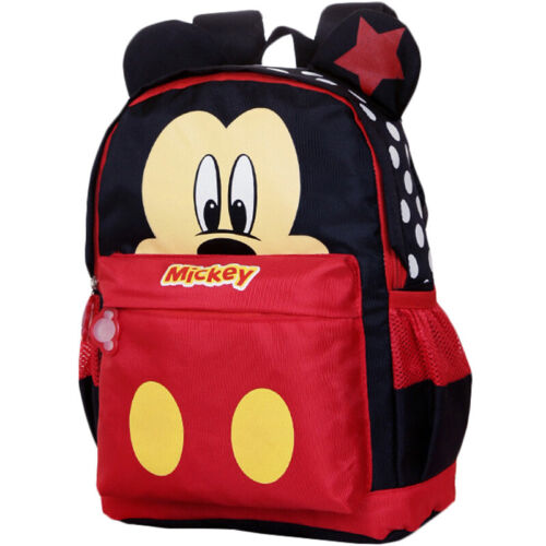 Kids Baby Girls kindergarden Mickey Schoolbag Boys Cartoon Mini Travel Backpack