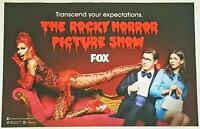 The Rocky Horror Picture Show - 11x17 Original Promo Tv Poster Sdcc 2016 Mint