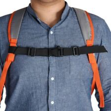 "Lightweight 1/"" Nylon Webbing Sternum Strap Backpack Chest Harness Open Loop"
