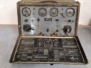 Vintage-REX-COLE-INC-Type-EE-1A-Turbo-Regulator-Test-Kit