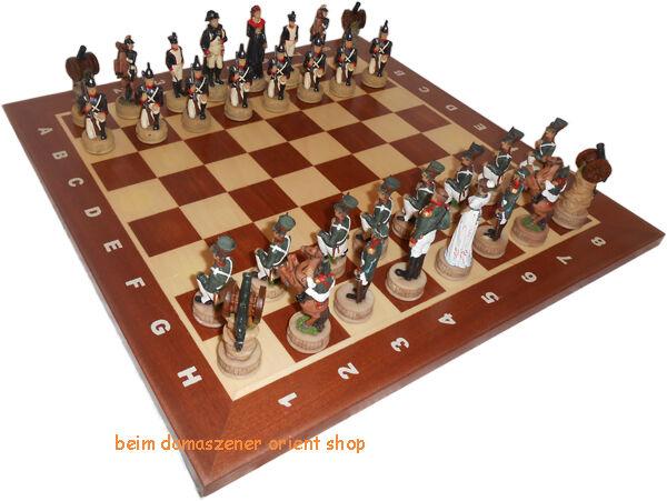 Frankreich Schachfiguren Figuren Polyresin Schachspiel Thema Thema Thema Schach HOLZ 44655f