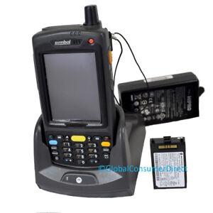 Motorola-MC75-MC7596-PYCSKRWA9WR-WM6-5-1D-Numeric-Barcode-Scanner-GSM-CRADLE