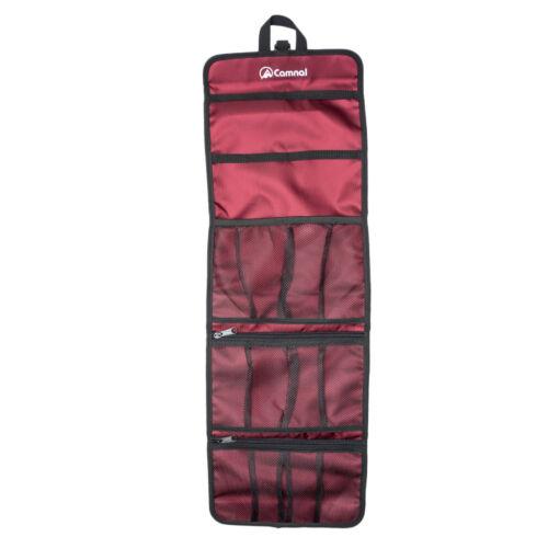 Nylon Bag Organizer Storage Carabiner Clip Belt Roll Up Hand Tote Climbing