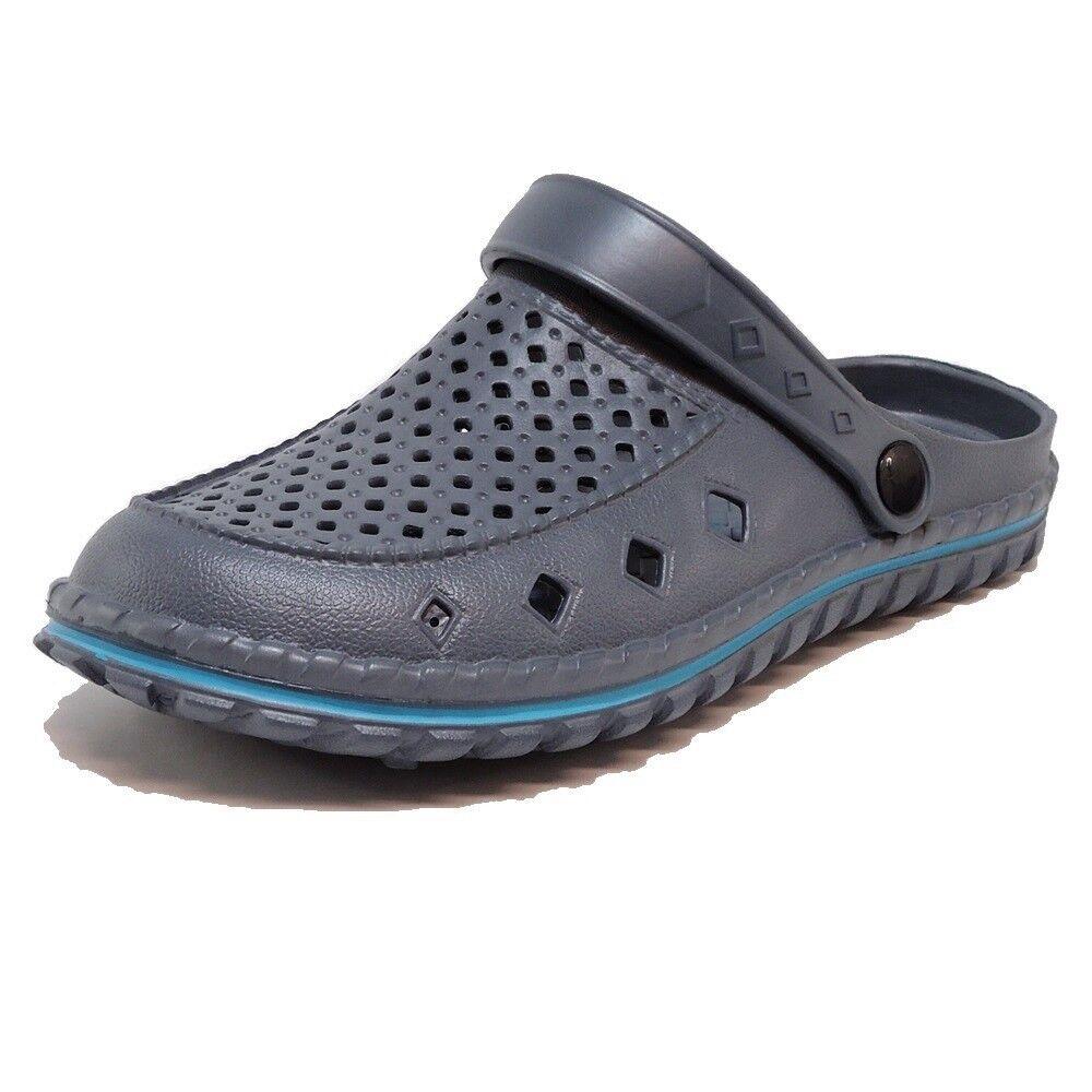Men's Clogs Beach Shoes (44D) Bath Slippers Mules Shoes New