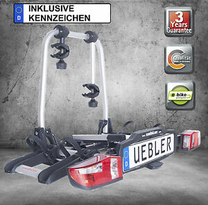 uebler fahrradtr ger hecktr ger f r 2 fahrr der inkl. Black Bedroom Furniture Sets. Home Design Ideas