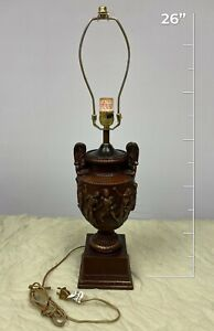 Hand Made Greek Style End Table Lamp