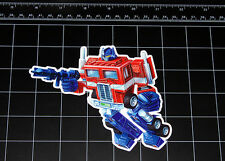 Transformers G1 Optimus Prime box art vinyl decal sticker Autobot toy 1980's 80s