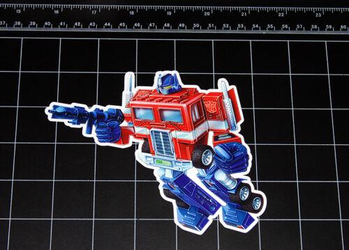 Transformers G1 Optimus Prime box art vinyl decal sticker Autobot toy 1980/'s 80s