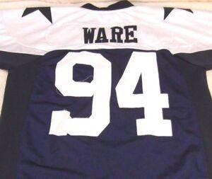 54c4f1cf4 NFL Men s Reebok Throwback Dallas Cowboys SIZE 48 Jersey DEMARCUS ...