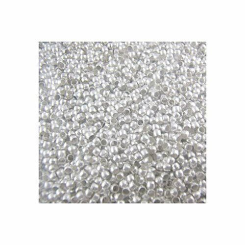 800 Crimp Beads 3mm Shiny Silver Plated Lead Free Alloy Beads