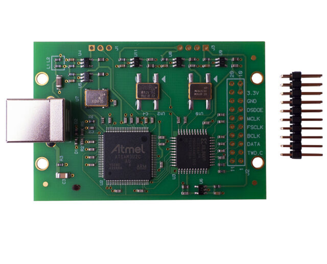 NEW Italy Amanero Combo384 USB DSD512 / PCM384 module high-order version