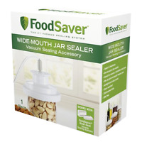 Vacuum Foodsaver Wide-mouth Mason Type Jar Lid Sealer Air Tight Odor Proof,