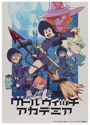Hot Little Witch Academia Japan Anime Cartoon Movie  Poster Art Decoration