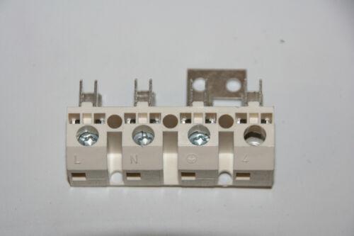 4 fach Verteiler für Flachsteckhülsen 6,3mm Flachstecker Klemm Verteilerleiste