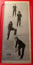 "Tyla Gang Tropical Love/Tour Vintage ORIG 1978 Press/Magazine ADVERT 17.5""x 7.5"""