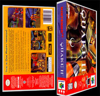 Quake 2 - N64 Reproduction Art Case/box No Game.