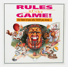 Rules of the Game Sports Trivia Board Game - NEW