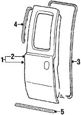1999-2016 Ford F250 F350 Super Duty Front & Rear Door Lower Weatherstrip Seals