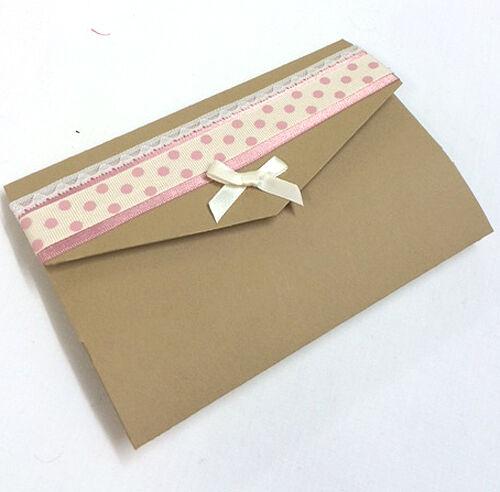 10 x À faire soi-même Mariage pocketfold invitation avec avec avec enveloppe a1fa75