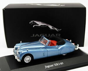 ATLAS Editions modello IN SCALA 1/43 AUTO 4 641 123-JAGUAR XK140-Blu