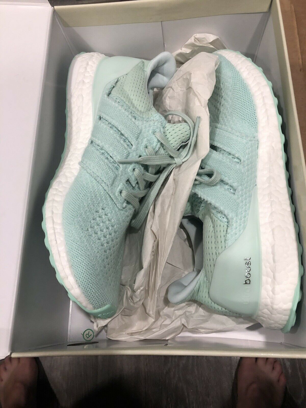 Adidas Ultra Boost 1.0 Naked Waves size 9.5 excellent 100% authentic