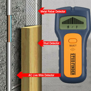 3-in-1-Multi-Stud-Scanner-AC-Live-Wire-Cable-Wood-Metal-Wall-Detector-Finder