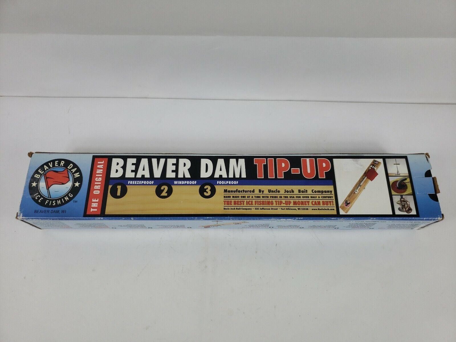 Uncle Josh Bait Co. Beaver Dam Wisconsin Beaver Dam  Punta Up-Nuevo En Caja