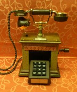 JUBILÄUM! 35! W48 Telephone Telefon  BAVARIA DFeAp 303 02.86 Holz Metall
