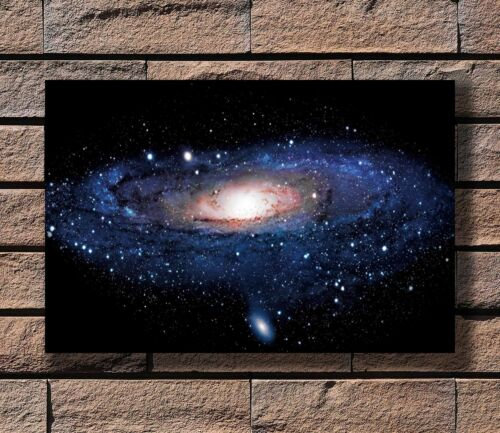 Outer Space Galaxy Stars Nebula Landscape Poster Fabric 8x12 20x30 24x36 E-573