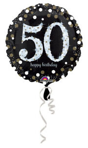 50th Birthday Decorations Party Supplies 50 yrs old Mylar 18