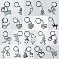 Sparkly Handbag Key Crystal Bling Diamante Metal Keyring Keychain Charm