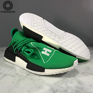 f65188b81 adidas PHARRELL X NMD HUMAN RACE  GREEN  GREEN BLACK WHT - BB0620