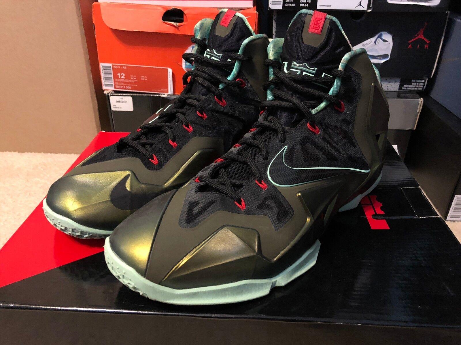 Nike lebron xi 11 re orgoglio taglia 12 di seconda mano