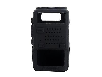 Black Rubber Soft Case for BAOFENG UV-5R/5RA/5RB TH-F8 UV-5RE Plus UV-985