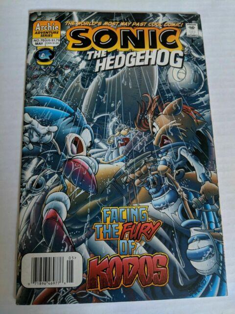 SONIC The HEDGEHOG Comic Book #70 May