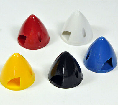 "1pc RC Airplane 3"" /76mm Nylon Plastic 2blades Prop Spinner 5colors #sb"