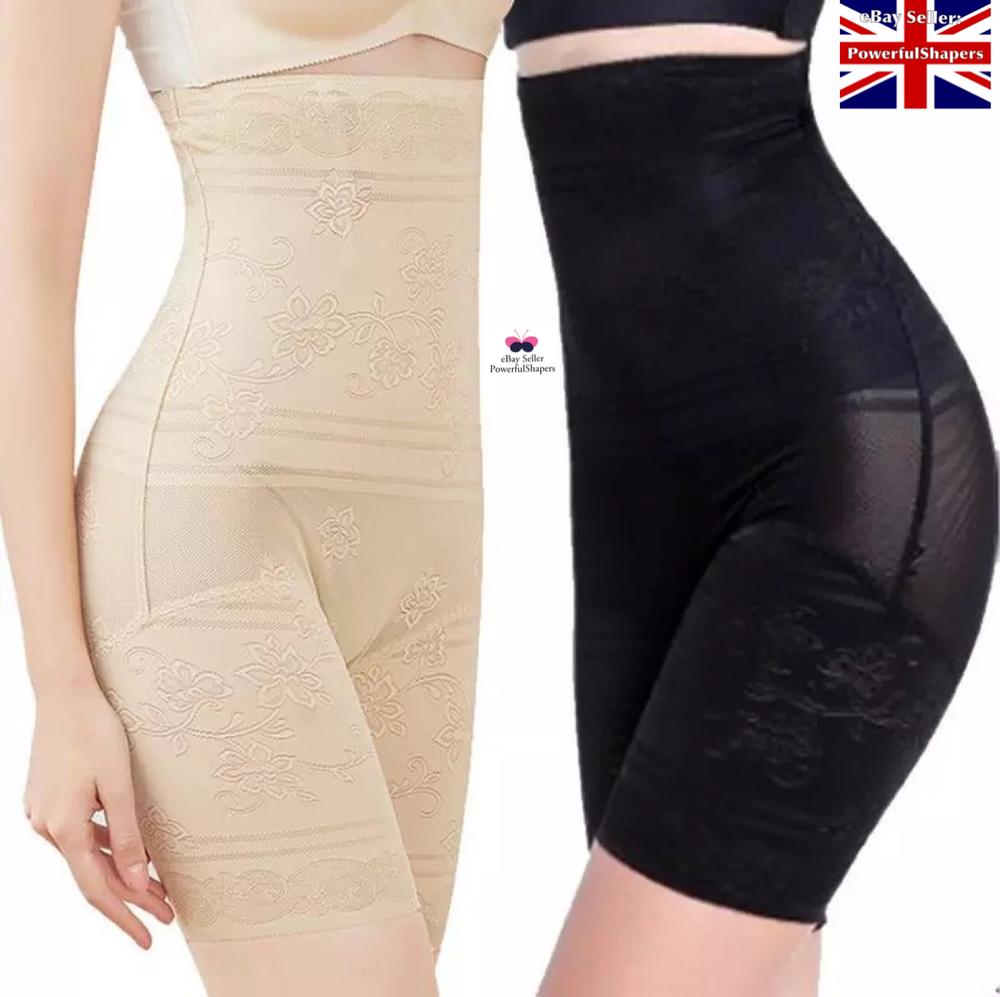 Mesdames Ultra Mince Taille Haute Corps Mise En Forme Ventre Ferme Contrôle Pantalon Pour Femme Nouveau