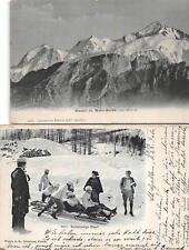 ST. GALLEN SWITZERLAND - USA BOB SLEDDING SPORTS PROFESSIONAL TEAM POSTCARD '06
