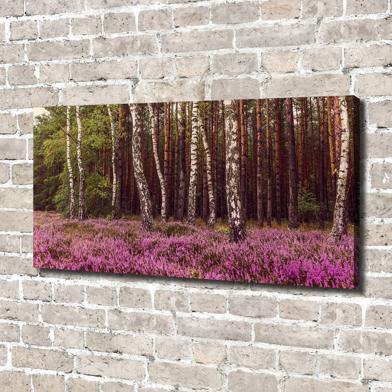 Leinwandbild Kunst-Druck 140x70 Bilder Landschaften Heide
