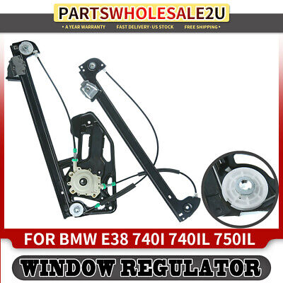 Window Regulator Repair Kit Front Left or Right Door for BMW E38 1995-2001