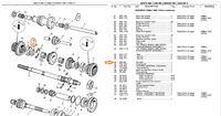 Mg Midget Ah Sprite Morris Minor Mini 22g89 Plunger - 2nd Speed Synchronizer Hub