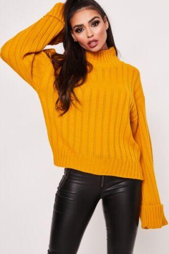 REGNO Unito Da Donna Baggy Oversize Maglione Pullover Top Sweater Felpa Donna Maglieria