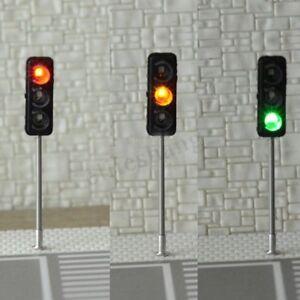 3PCS-HO-OO-feu-de-signalisation-LED-Modele-architecture-traversant-la-rue-railwa