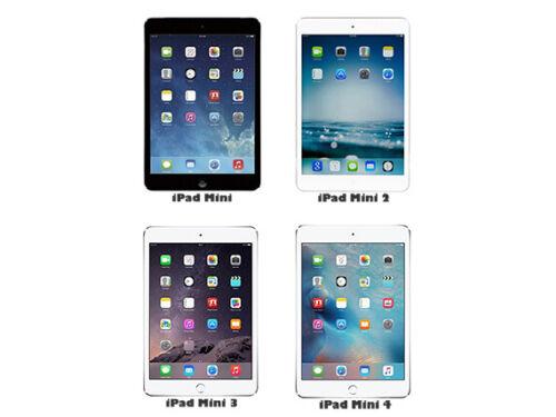 Cellular AWESOME! Apple iPad Mini Generation 1 2 3 4 16GB 32GB 64GB 128GB WiFi