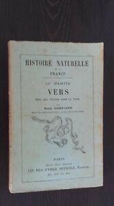 Histoire Naturale A 203 Figure Remy Saint-Loup I Fili Deyrolle SD