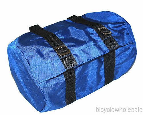 Nylon Bicycle Seat Bag Blue NEW! Classic Bicycle Seat Bag Blue