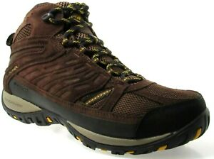 COLUMBIA-ACCESS-POINT-MID-MEN-039-S-TOBACCO-WATERPROOF-HIKING-BOOTS-YM5296-256