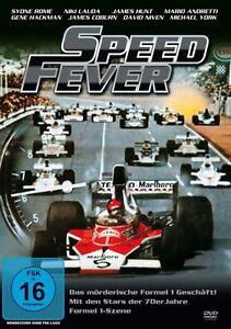 DVD - SPEED FEVER - FORMEL 1 - NIKI LAUDA + JAMES HUNT + MARIO ANDRETTI * NEU *