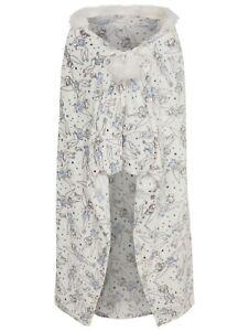 Details about Ladies Disney Tinkerbell Fleece Poncho Blanket Gift Set  Fleece Hooded One Size