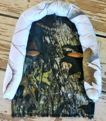 infant headsupport realtree snow camo  and mossy oak